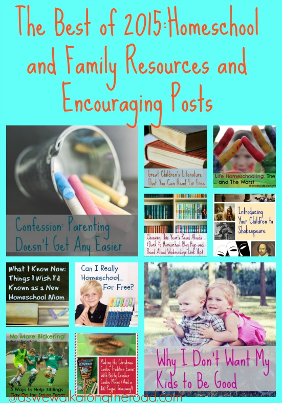 Best posts of 2015-homeschool and family resources