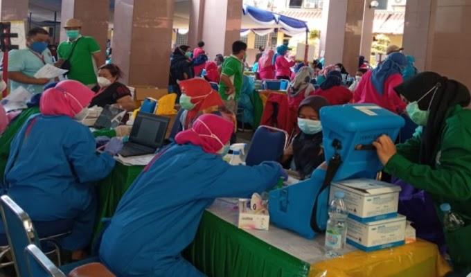 Antisipasi Covid-19, Seluruh Petugas LPKA Kelas I Tangerang di Suntik Vaksin