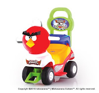 SHP CB610 Captain Bird Ride-on Car Red