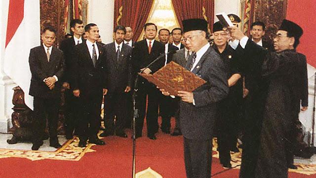 Pak Habibie jadi Presiden
