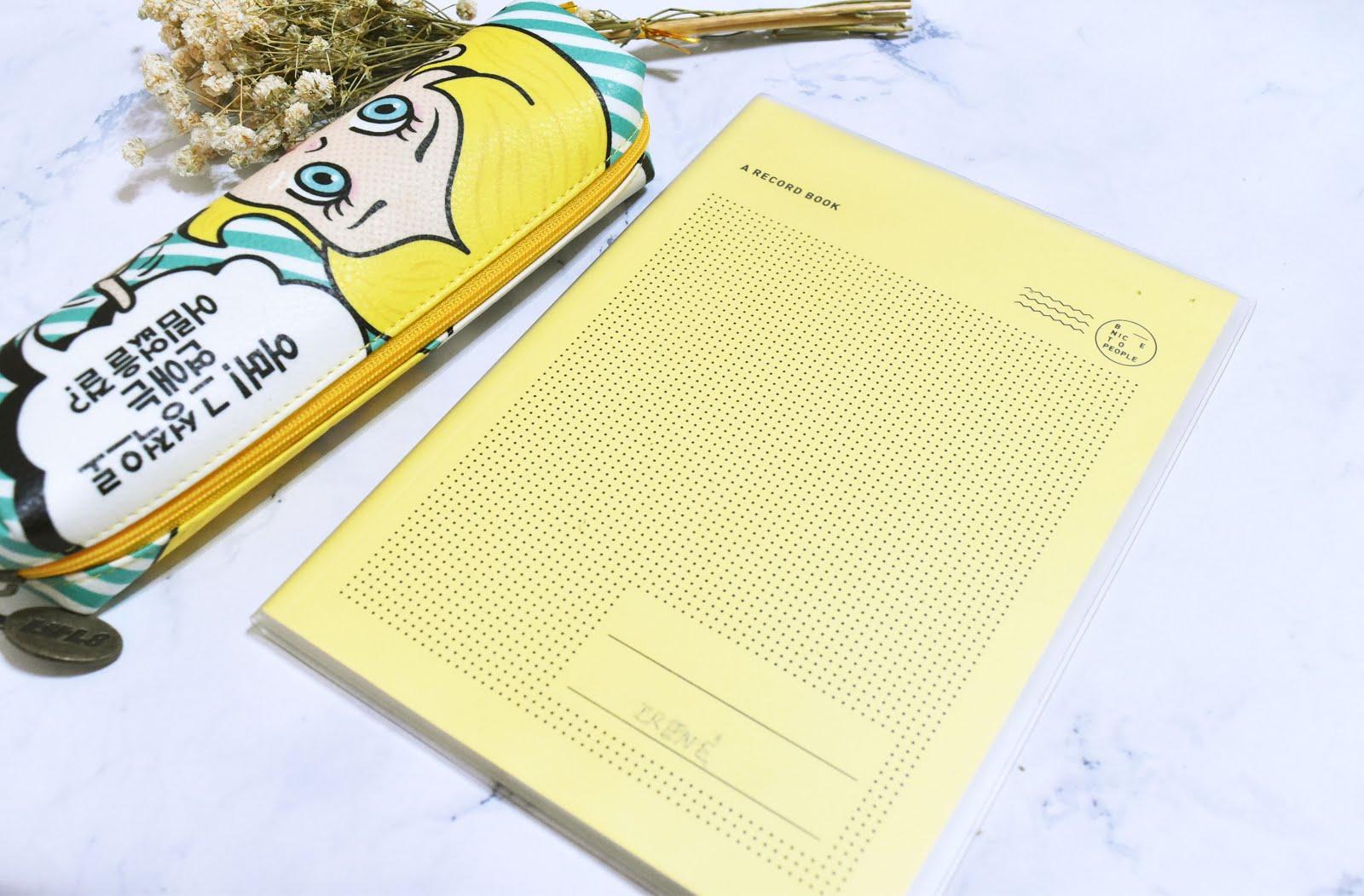 韓國筆記本推薦|用『BNTP』筆記本紀錄日常生活吧~! - 花光薪水去旅行