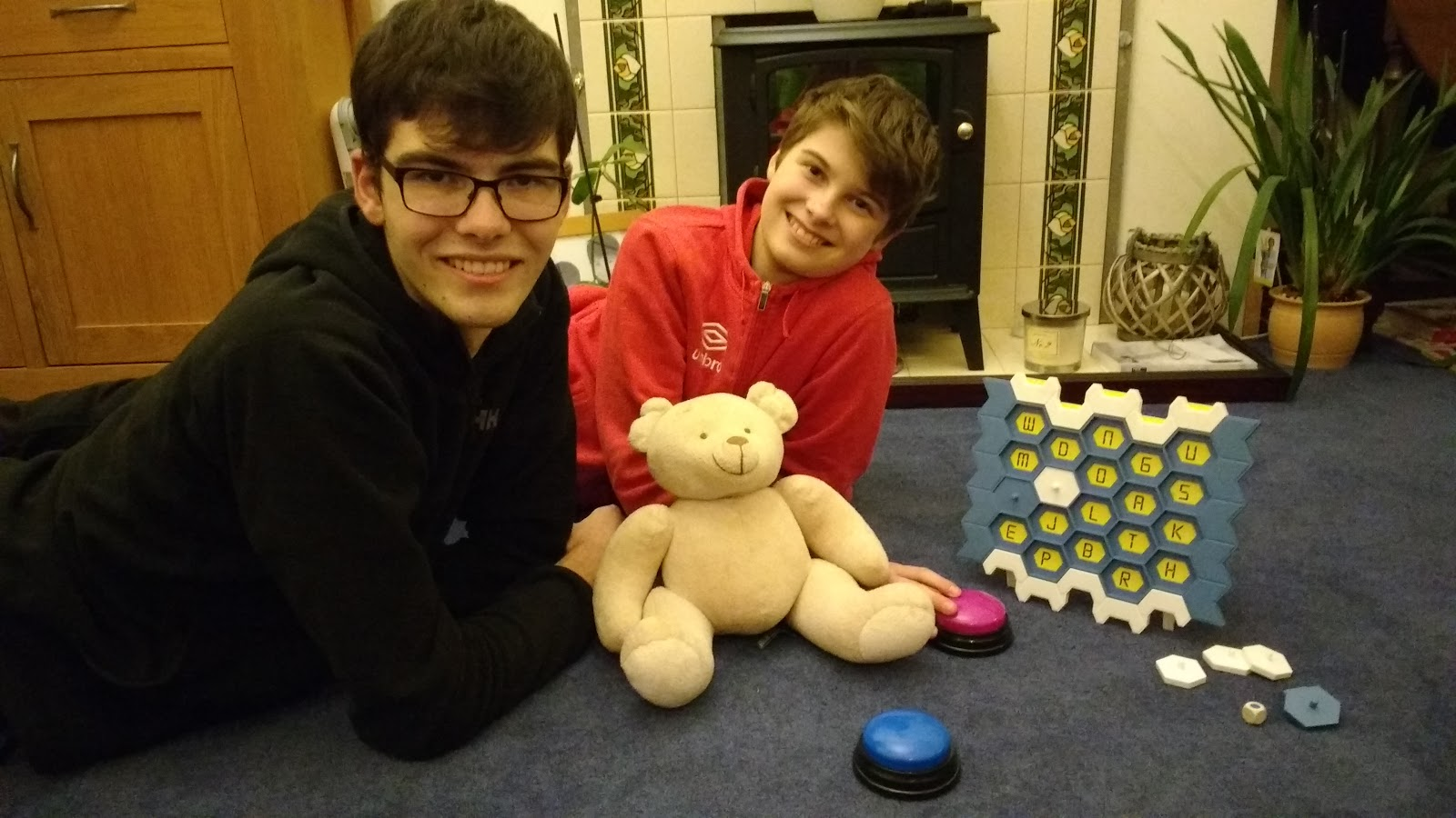 Bakes, Bikes and Boys: Games Night