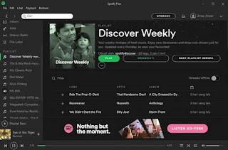 cara download lagu di spotify melalui PC