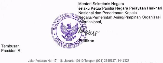 Surat Edaran Tema dan Logo HUT Ke-74 Kemerdekaan RI Tahun 2019, https://bloggoeroe.blogspot.com/