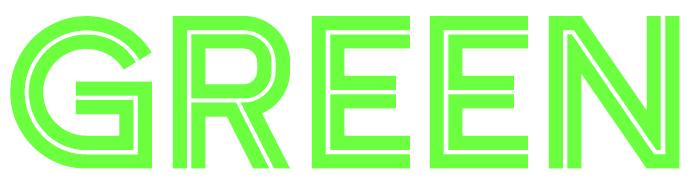 Green 80s Font