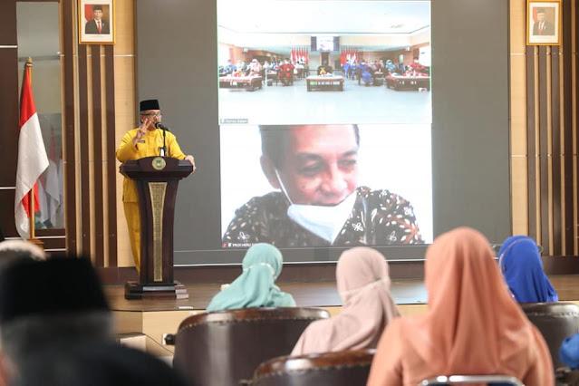 Sekdako Batam Membuka Rakor Penyusunan GDPK Kota Batam
