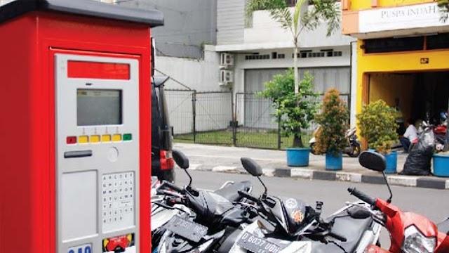 Capaian Retribusi Parkir Kota Bandung Melalui Mesin Elektronik, Belum Maksimal.
