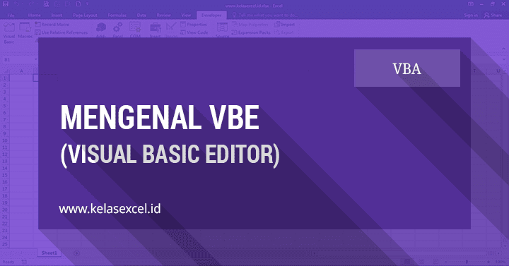 VBE (Visual Basic Editor) Excel