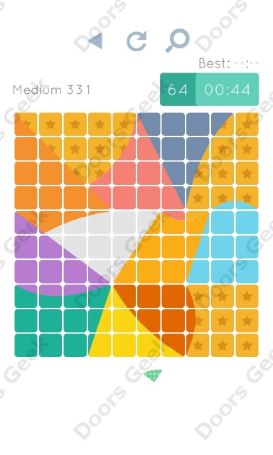 Cheats, Walkthrough for Blocks and Shapes Medium Level 331