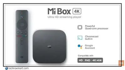 mi box 4k streaming device launch