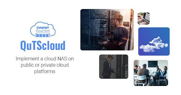 QNAP atualiza QuTScloud