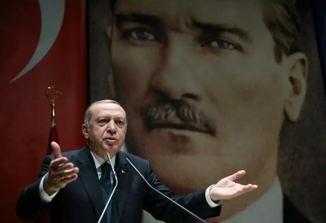 """""""Οι επίγειες προσβολές του τούρκου προέδρου..."""""""