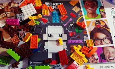 Les selfies by Lego BrickHeadz