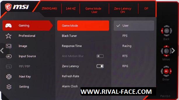 Review Monitor Gaming MSI Optix MPG27CQ :Color Bends, Calibration
