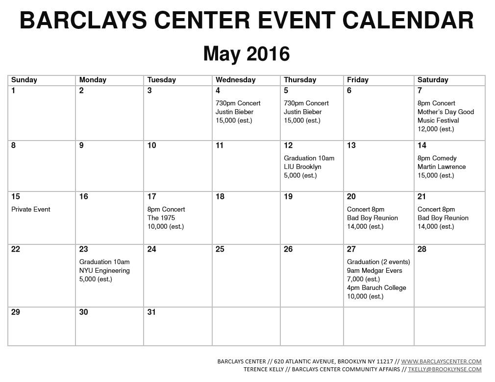 Barclays Center releases February 2018 event calendar: