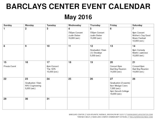 May Calendar Events : Atlantic yards pacific park report