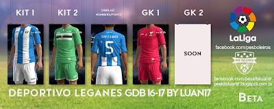 Deportivo Leganes Joma [2016-17]