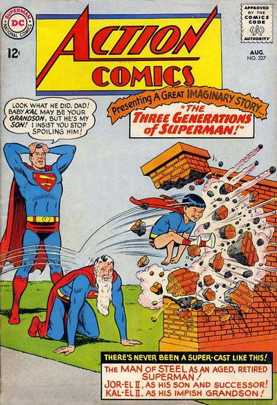 Episode #385 Part IV: Superman Comic Book Cover Dated August 1965: Action Comics #327!