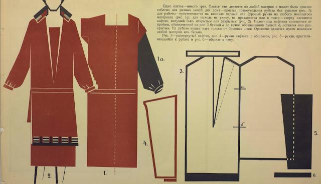 Платье-трансформер выкройка