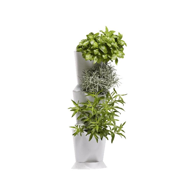 Baby reciclart ideas para un huerto en tu terraza for Jardin vertical verdecora