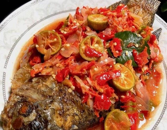 Warung Barokah Ceuceu Pecak Ikan Gurame