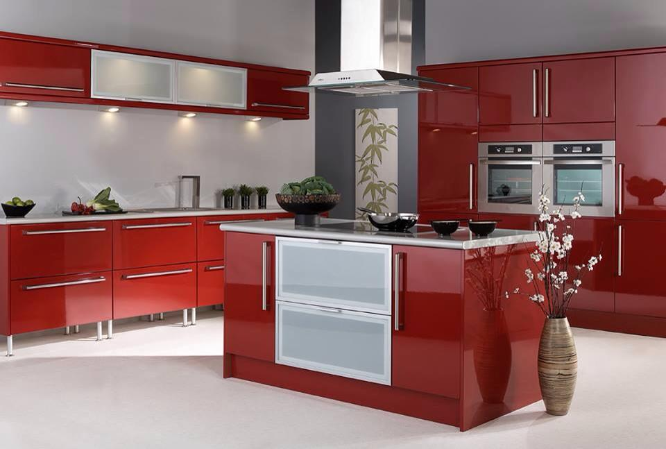Modern Custom PVC Kitchen Cabinets Decorating Ideas