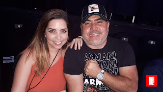 Moisés Millán y Cristina Calatayud.