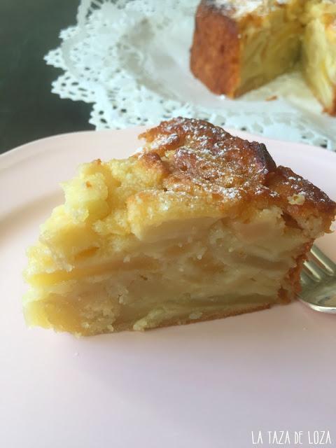 Interior-de-la-tarta-de-manzanas-francesa