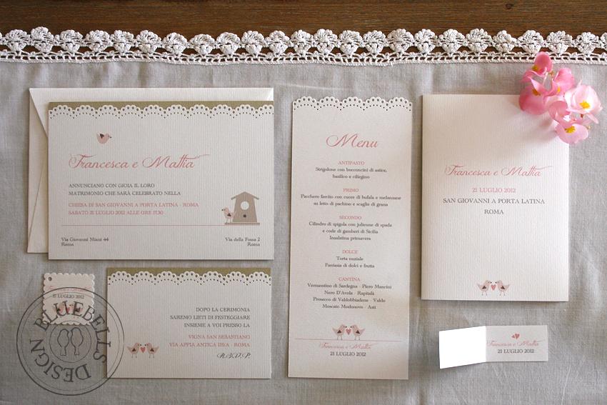Favorito Bluebells Design: Wedding Suite: un matrimonio Country Chic GD73