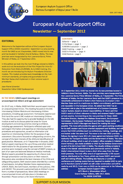 EASO Newsletter