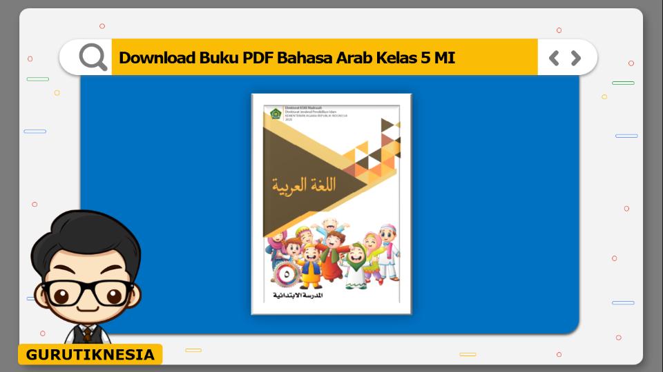 download buku pdf bahasa arab kelas 5 mi