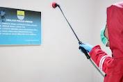 Kantor Manajemen dan Mess Pemain Persib Bandung Disemprot Disinfektan