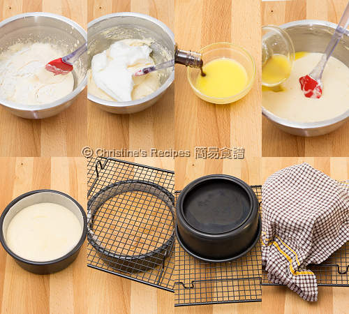 海綿蛋糕 Sponge Cake Procedures02