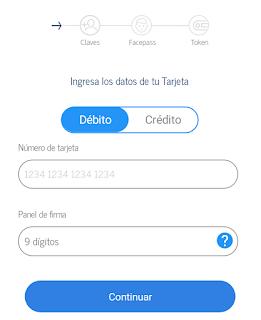 App Inbursa Registro ¿Eres nuevo? Registrate