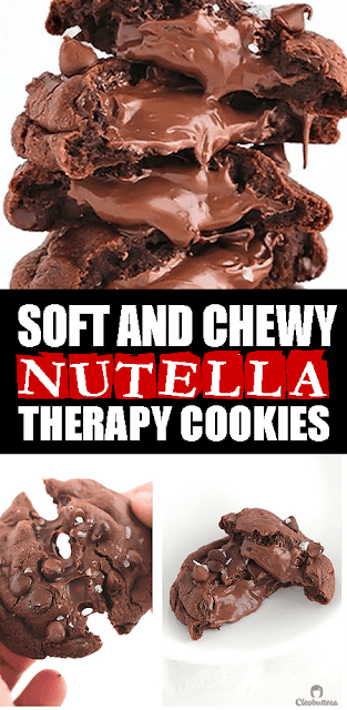 #NUTELLA THERAPY #COOKIES