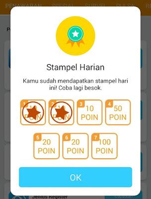 Review : Aplikasi Pulsa Gratis PopSlide