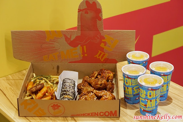 Jinjja Chicken, The Gardens Mall,  Sunway Pyramid, Korean Fried Chicken, Monster Sauce, Korean food, Big Bang Set, Jjamjja Myeon,  Bibimbap, Jinjja Drumsticks, Soft Mix
