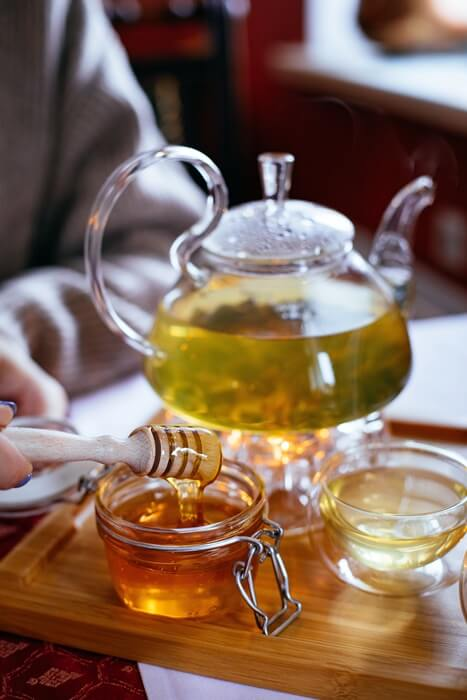té con miel