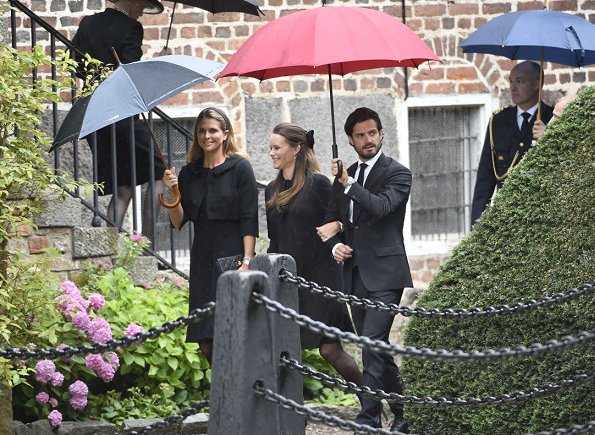 Queen Silvia, Crown Princess Victoria, Prince Daniel, Prince Carl Philip, Princess Sofia, Princess Madeleine and Princess Benedikte