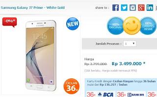 Samsung Galaxy J7 Prime Harga Terbaru Rp 3.499.000