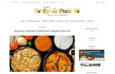 Criação de Site para Restaurante de Frutos do Mar