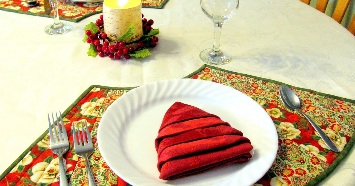 Round Table Placemat, Placemats For Round Tables Wedge Pattern