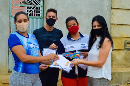 ITAMBÉ: ASSISTÊNCIA SOCIAL ENTREGA KITS DE ARTESANATO AOS IDOSOS E SEGUE FORTALECENDO O ATENDIMENTO REMOTO DOS CRAS