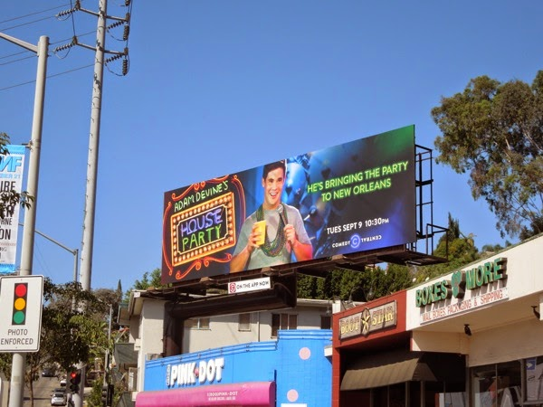 Adam Devines House Party New Orleans season 2 billboard