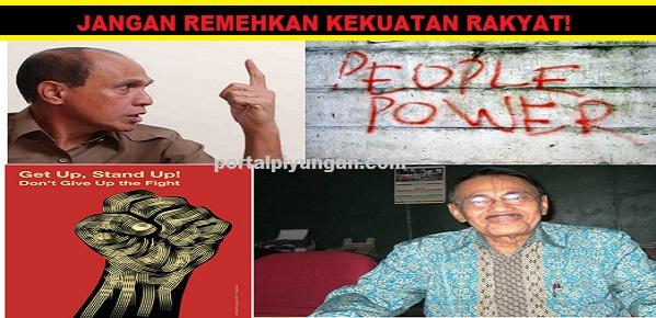 Dua Jendral Dukung People Power Desak MPR Gelar Sidang Istimewa Untuk Lengserkan Jokowi-JK