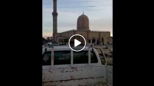 Innalillahi, Masjid di Mesir Dibom Saat Sholat Jumat, 235 Umat Islam Meninggal Dunia dan 200 Lebih Mengalami Luka-luka, Lihat Videonya Bikin Nangis!