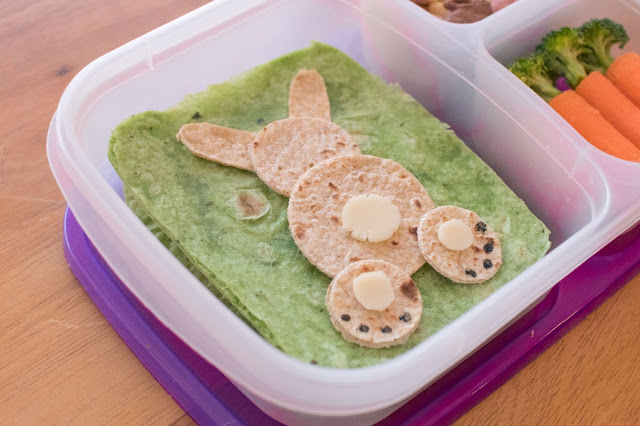 How to Make an Easter Bunny Lunch