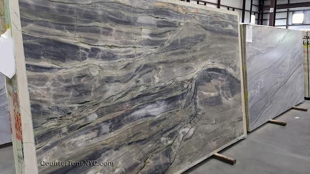 Michelangelo Natural Stone Quartzite Leathered Slab NYC