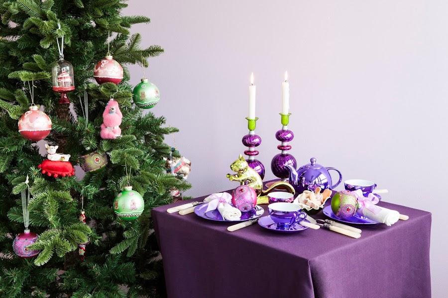 Decoración navideña diferente