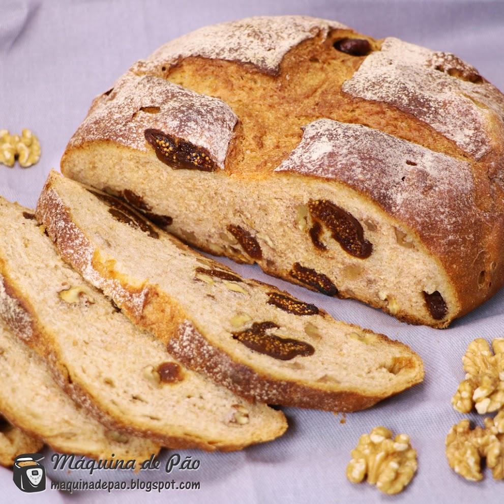 Pão de Figos e Nozes